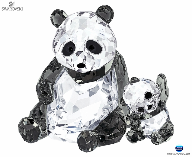 Panda Mother with Baby