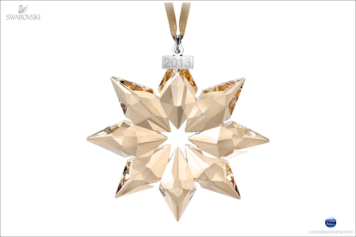 Beautiful Swarovski Christmas Ornaments Part - 10: (SOLD OUT) SCS Christmas Ornament, Annual Edition 2013