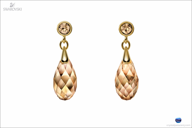 (SOLD OUT) SCS Oro pierced earrings