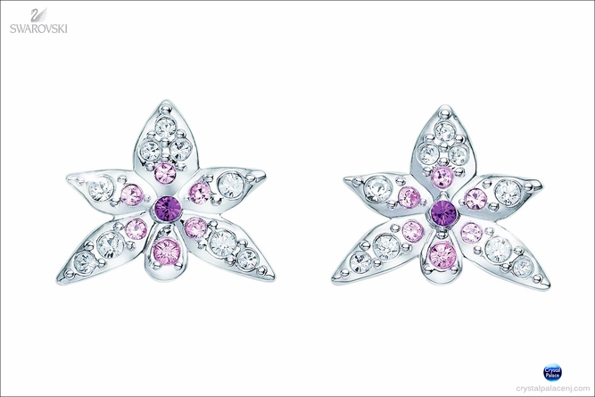 (SOLD OUT) SCS Pierced Earrings Orchid  2013