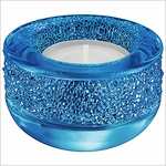 Shimmer Tea Light Capri Blue