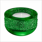 Swarovski Shimmer Tea Light, Green