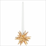 Swarovski  Star Candleholder, Golden Shadow