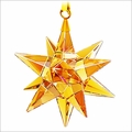 (SOLD OUT) Swarovski Star Ornament, Golden Shadow