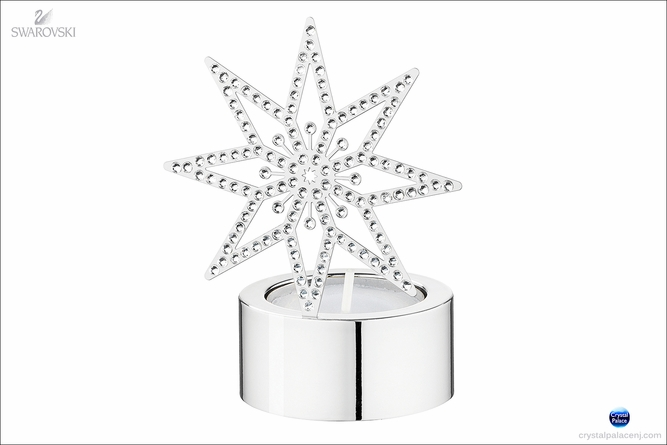 (SOLD OUT) Tea Light, Silver Star