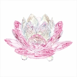 Waterlily Candleholder, Pink