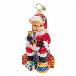 (SOLD OUT) Teddy Claus Radko  Ornament