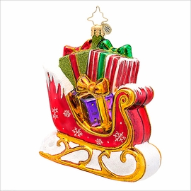 (SOLD OUT) The Gift Glider Radko Christmas Ornament