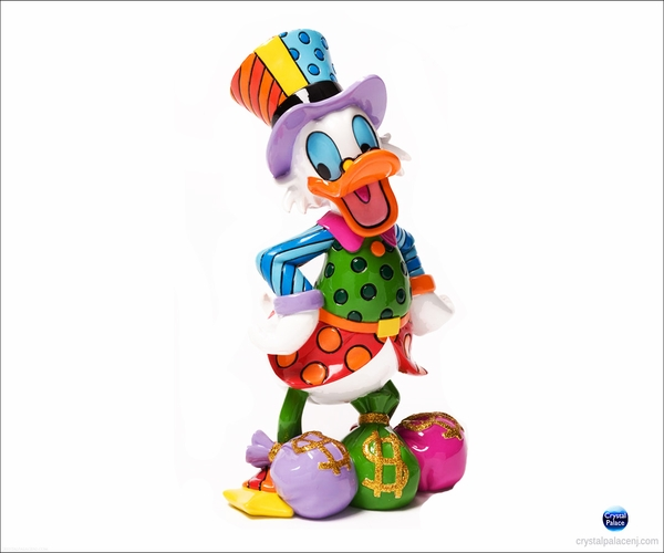 Uncle Scrooge with Money  by Britto