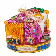 (SOLD OUT) Visions of  the Sugar Plums  Radko Ornament
