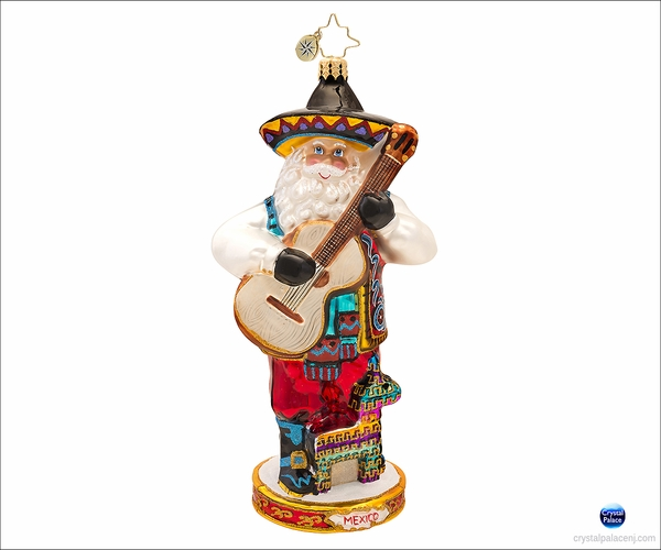 (SOLD OUT)  Viva Mexico Radko  Christmas Ornament