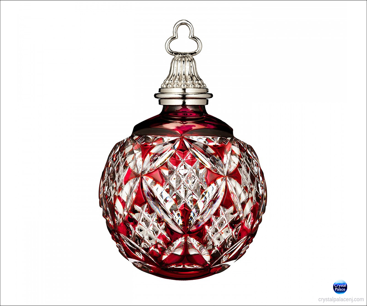Waterford 2015 Annual Red Cased Ball Ornament