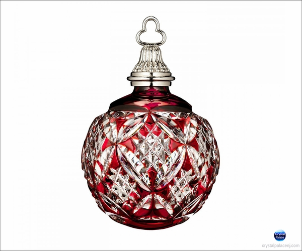 (SOLD OUT) Waterford 2015 Annual Red Cased Ball Ornament