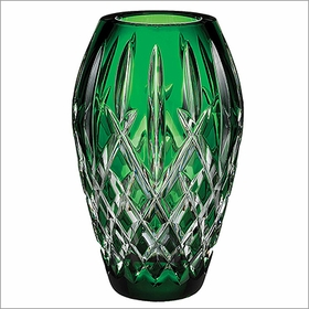 "(SOLD OUT) Waterford Araglin Prestige 7"" Emerald Green Vase"