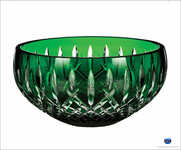 "(SOLD OUT) Waterford Araglin Prestige 9"" Emerald Green Bowl"