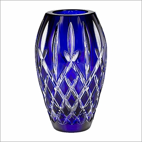 "(SOLD OUT) Waterford Araglin Prestige Cobalt 7"" Vase"