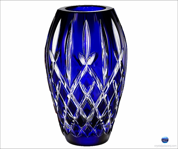 "(SOLD OUT) Waterford  Araglin Prestige Cobalt 9"" Vase"