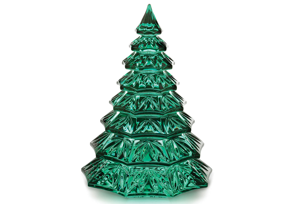 Waterford Christmas Tree Sculpture Green