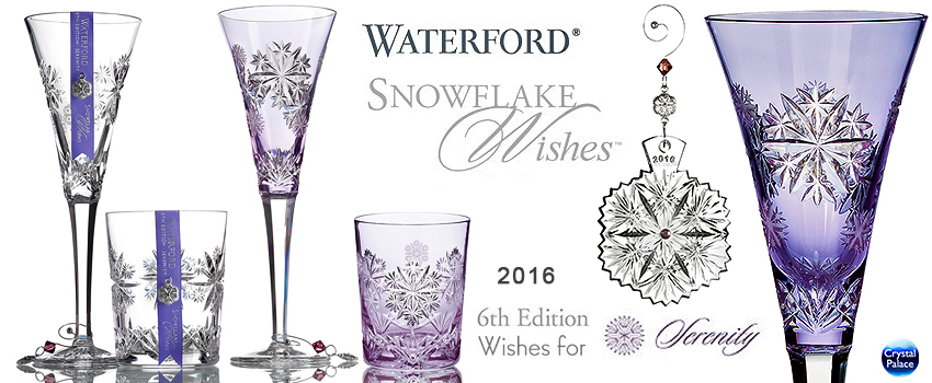 Waterford Crystal Snowflake Wishes