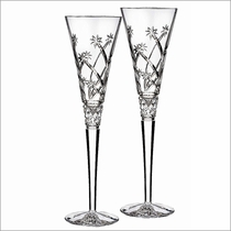 Waterford Crystal Wishes Believe Flute, Pair