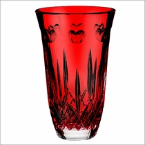 "Waterford I Love Lismore ""Red"" 8"" Vase"