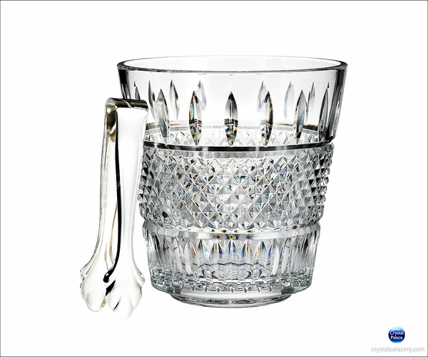 Waterford Irish Lace Ice Bucket with Tongs