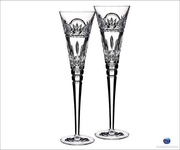 Waterford Jim O'Leary Toasting Flute, Set of 2
