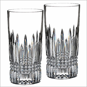 Waterford Lismore Diamond Hiball, Set of 2