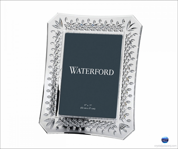"Waterford Lismore  Picture Frame  5""X7"""