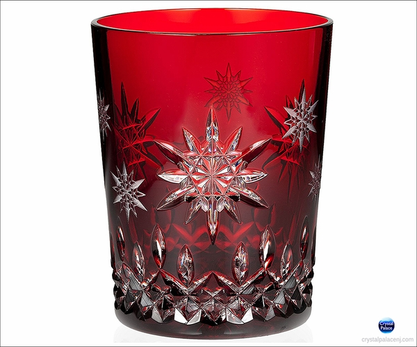 "2011 Waterford Snowflake Wishes  ""Wishes for Joy"" Prestige Edition Ruby DOF"