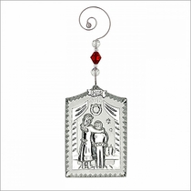 (SOLD OUT) Waterford Twas the Night Before Christmas Ornament
