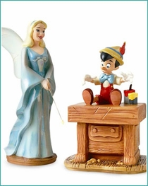 (SOLD OUT) Blue Fairy and Pinocchio