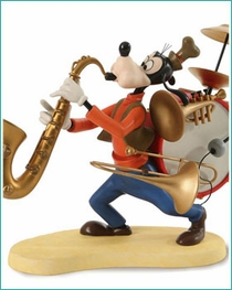 (SOLD OUT) WDCC Goofy One Man Band