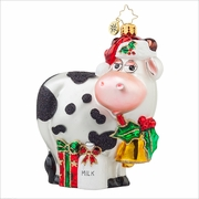 (SOLD OUT) You've got Milk  Radko Ornament