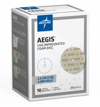 "AEGIS CHG-Impregnated Foam Disc 1"" by Medline"