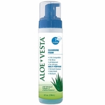 Aloe Vesta Cleansing Foam 8oz No-Rinse Cleansing Foam, ConvaTec
