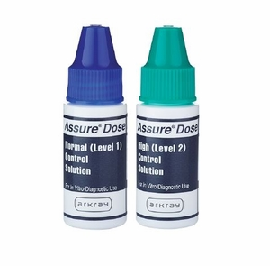 Assure Dose Normal/High Control Solution, Arkray # 500006