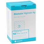 Biatain Alginate Ag Silver Dressing (Formerly SeaSorb Ag), Coloplast