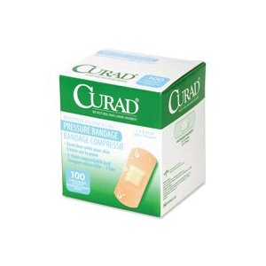 CURAD Pressure Bandages Large (Box of 100) # NON85100