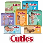 Cuties Baby Diapers by Prevail