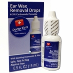 Doctor Easy Ear Wax Removal Drops 0.5 fl oz (15 mL)