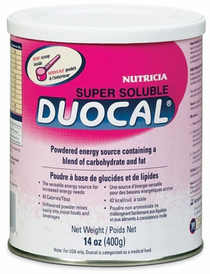Duocal Powder Supplement 14oz Can, Nutricia # 118262