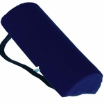 "Essential Half Roll Lumbar Support Cushion w/Strap, 3""x10"""