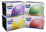 Exercise Fitness Ball Anti-Burst 45 cm to 75 cm, Body Sport