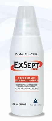ExSept Plus Wound Cleanser 8.5oz (250mL), # 15108