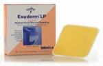 Exuderm LP Thin Hydrocolloid Wound Dressing by Medline