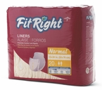 FitRight Liners for Incontinence by Medline