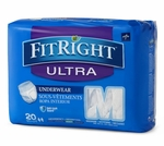 FitRight Ultra Protective Underwear (Heavy Absorbency), Medline