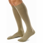JOBST for Men Casual Compression Socks Knee High 20-30mmHg, Closed Toe