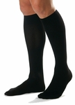 JOBST for Men Compression Socks Knee High Closed Toe 20-30mmHg, Ribbed
